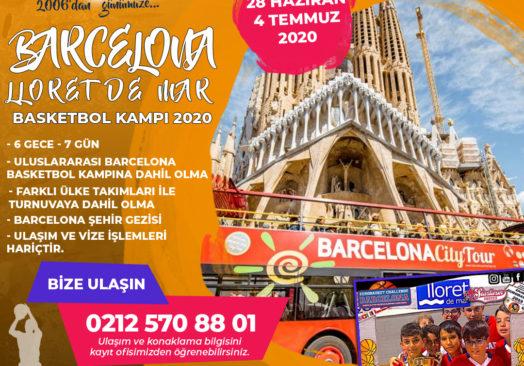 Barcelona Lloret de Mar Basketbol Kampı 2020