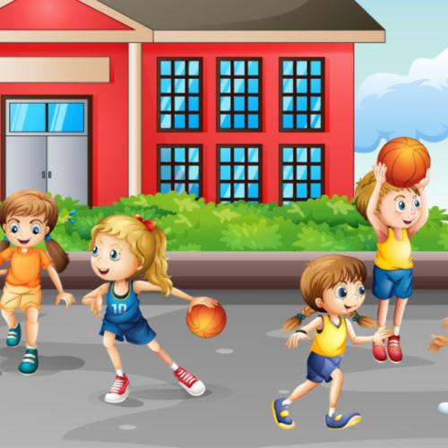 Basketbol Topu Olmayan Okul Kalmasın